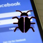 Image for the Tweet beginning: Facebook bug may have exposed