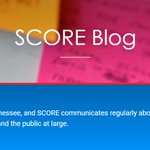 Image for the Tweet beginning: DYK the SCORE Blog is