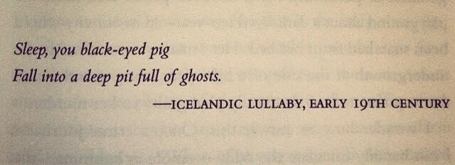 Sweet dreams, Icelandic baby