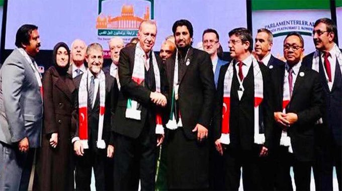 Addressing conference of Parliamentary Association for Al-Quds, Deputy Speaker NA, Qasim Suri said #Pakistan fully supports idea for resolution of all international disputes specially Arab-Israel dispute. He said peace in Arab countries is imperative for peace of whole world. Photo