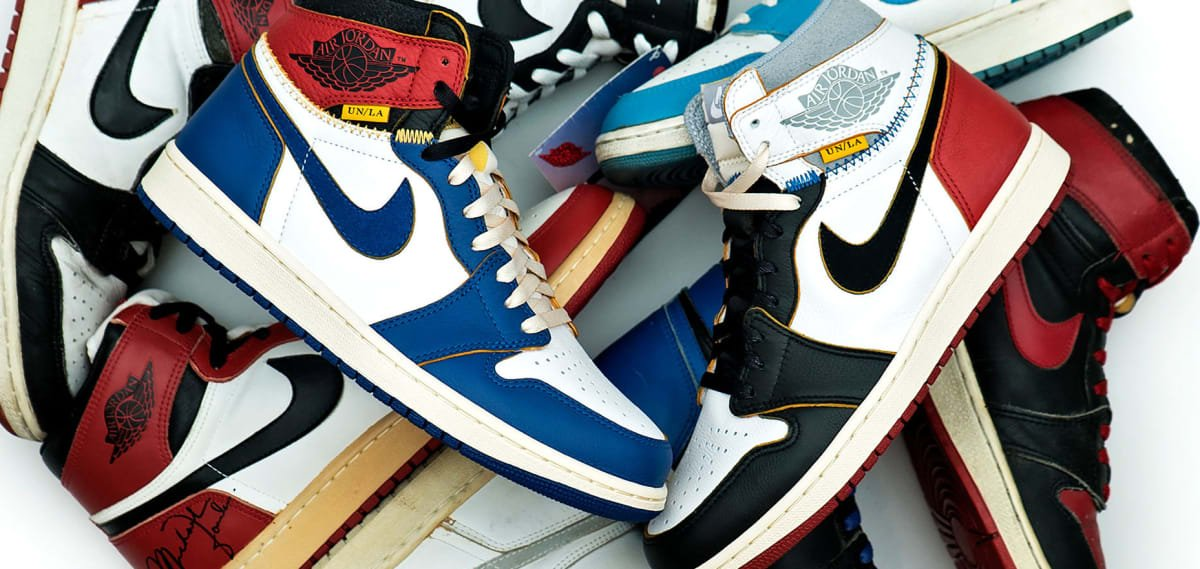 The Union x Air Jordan 1 collection is restocking one last time  https   0b662a700