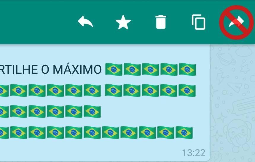 WhatsApp limita ainda mais encaminhamento de mensagens: apenas para 5 contatos ->  O https://t.co/Np6gr5P5Dvque você acha? #olhardigital