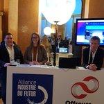 Image for the Tweet beginning: at #industriedufutur event at @CCI_Paris_IdF