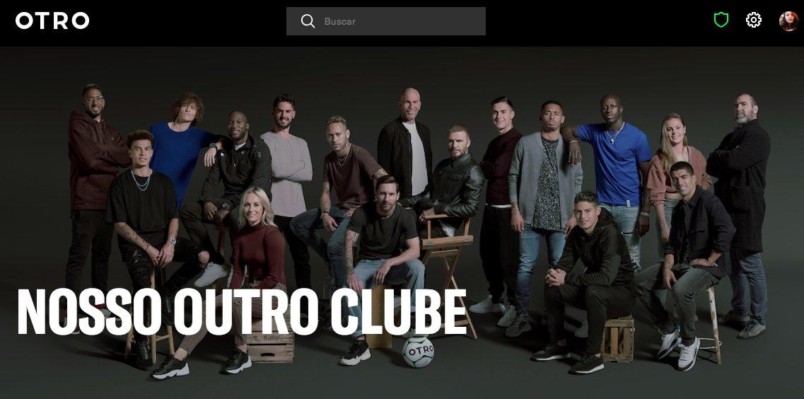 Voltei! Em mais um dos seus muitos projetos juntos, Messi e Suárez fazem parte do #OTROisHere, a rede social exclusiva dos jogadores para seus fãs.