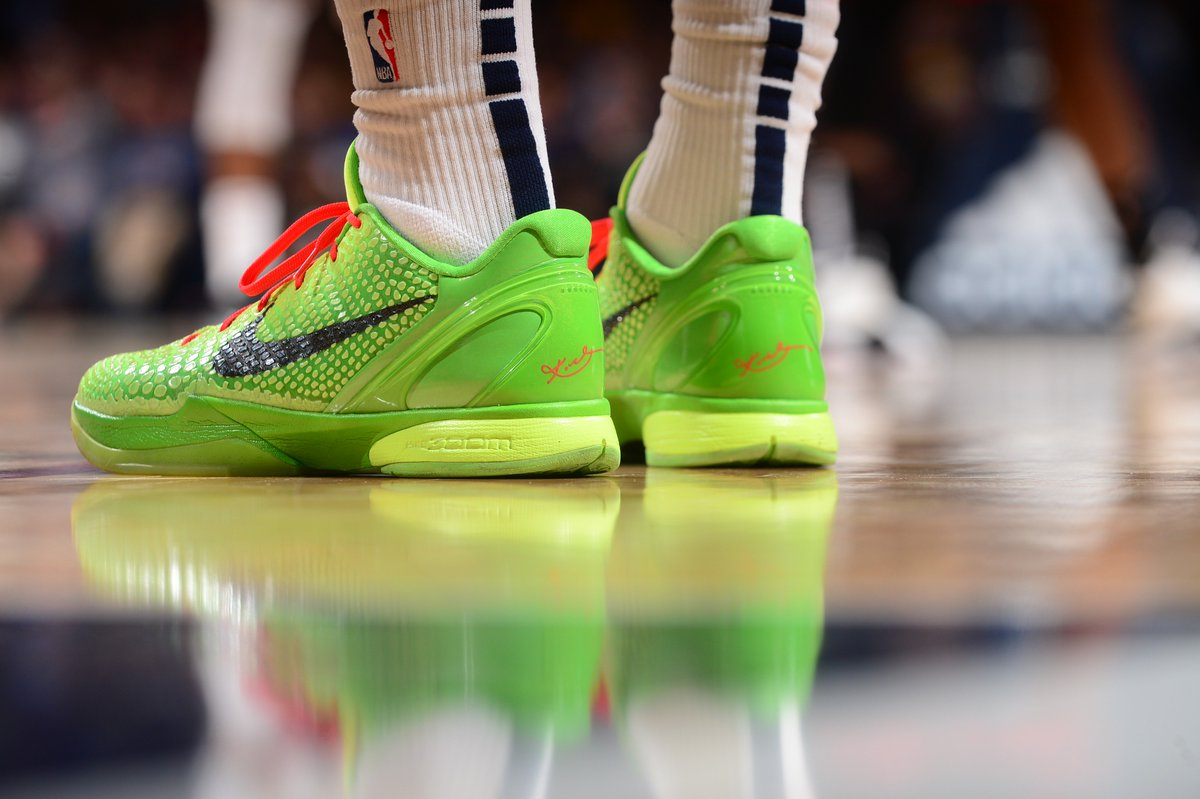 0b88c7e725d128 luka s gohan nike pgs grinch kobes and a variety of air jordans dominate  sunday s