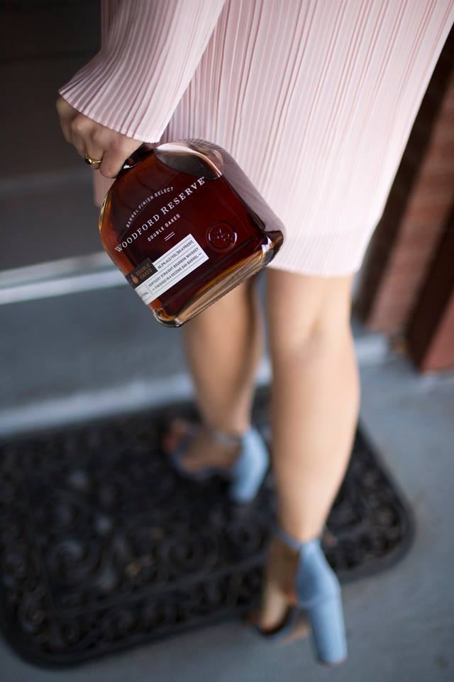 Walking into the holiday party like... #woodfordreserve