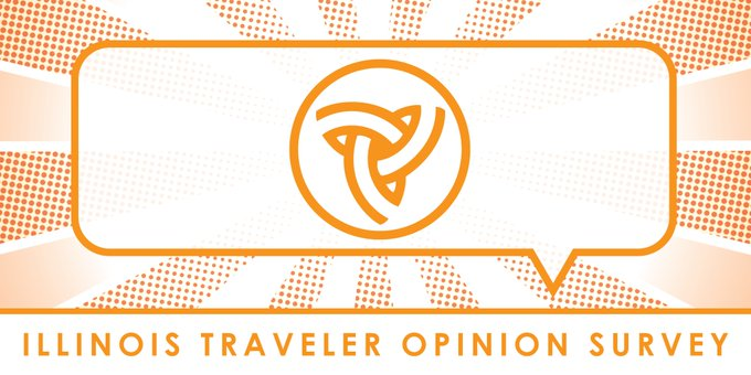 RT @IDOT_Illinois: Make your voice heard! We've teamed with @UISedu to conduct our annual Traveler Opinion Survey to measure how Illinois r…