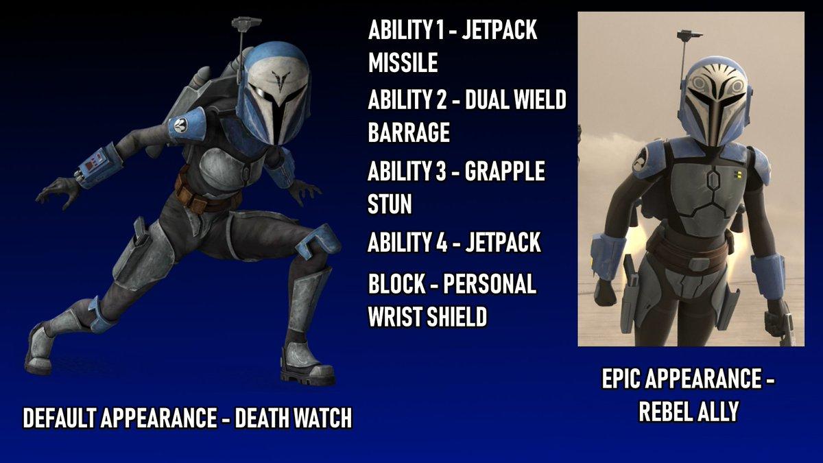 Finfett On Twitter New Hero Bo Katan Kryze Again Bo Katan Can Use The Mandalorian Jetpack Alongside Her Mandalorian Blaster Pistol While She Does Not Have A Darksaber She Has Her Quick