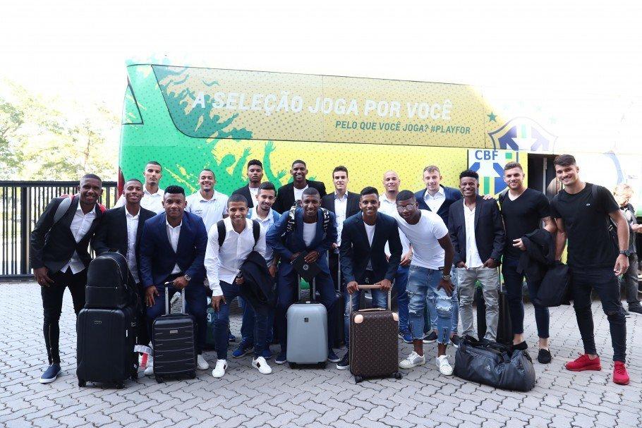 Partiu Granja! #SeleçãoSub20 já começou a preparação para o Sul-Americano de janeiro. Saiba mais em http://www.cbf.com.br. ⚽🇧🇷 #GigantesPorNatureza  Foto: Lucas Figueiredo/CBF