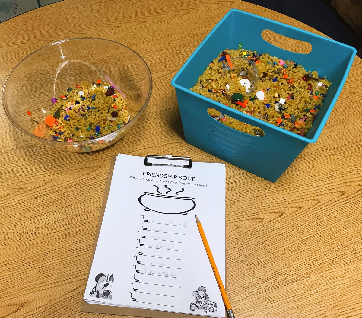 Ms Cariddi On Twitter 3rd Grade Ss Made My Favorite Soup Friendship Soup Recipes Included Important Friendship Traits That Are Needed To Make And Keep Friends What Ingredients Are In Your
