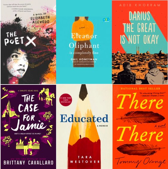 These are a few of our favorite books of 2018. <a target='_blank' href='http://twitter.com/APSLibrarians'>@APSLibrarians</a> <a target='_blank' href='http://twitter.com/principalWHS'>@principalWHS</a> <a target='_blank' href='http://twitter.com/WHSHappenings'>@WHSHappenings</a> <a target='_blank' href='https://t.co/vhDsVqNDQg'>https://t.co/vhDsVqNDQg</a>