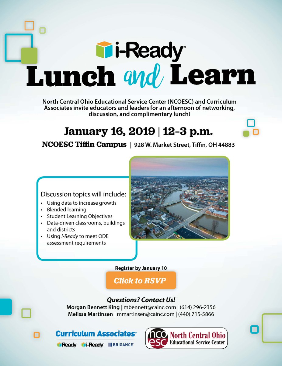 Ncoesc On Twitter I Ready Lunch And Learnthe North Central Ohio