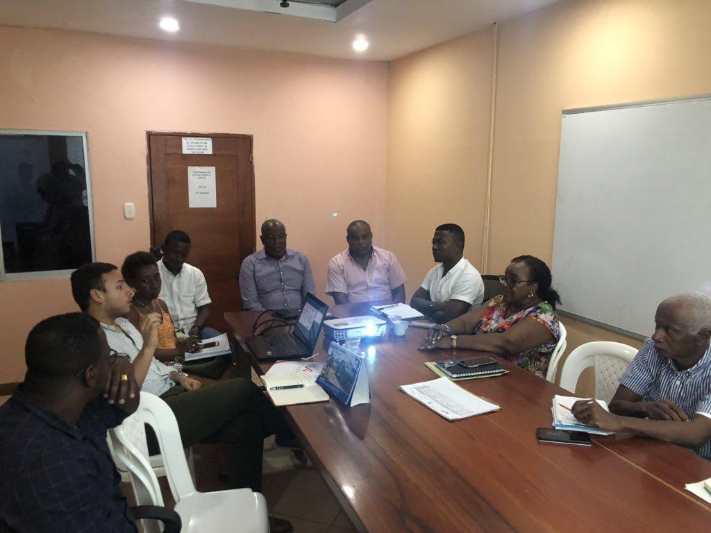 Presentación del diagnóstico de productividad y empleo de @RutaQAlcaldia en el proceso de construcción de la política de desarrollo productivo con el Alcalde @ChalaIsaias y el equipo de gobierno