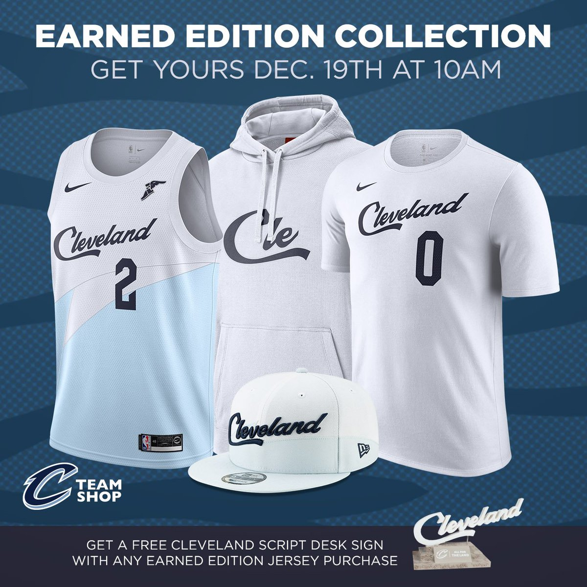 newest 23e53 cedd9 Cavaliers Team Shop on Twitter:
