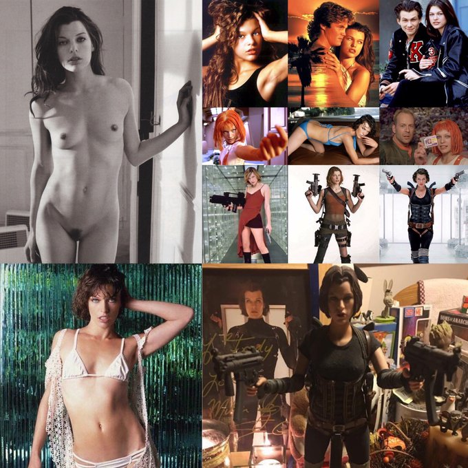 Happy 43th Birthday to Beauty Actress & Model Milla Jovovich