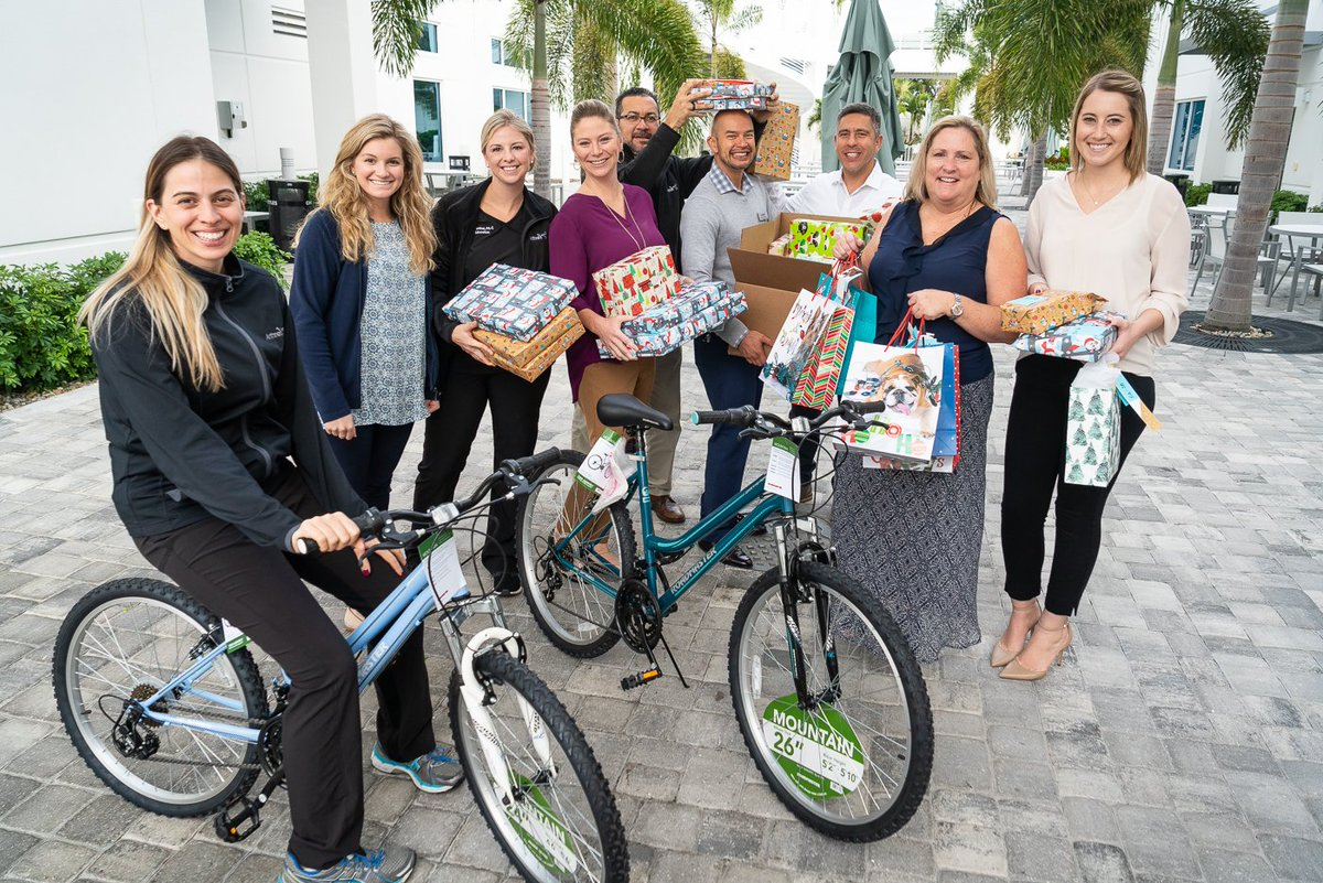 Our employees are thrilled to make the holidays happy for 40+ local families by donating to the Children's Advocacy Center of Collier County's Adopt a Family program. #DiscoverArthrex