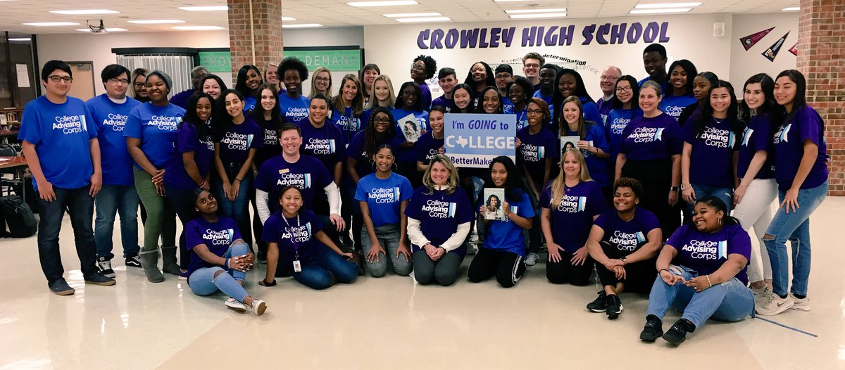 On our way to see @MichelleObama at her #IAmBecoming tour in Dallas! Thank you @AdvisingCorps and #BetterMakeRoom for making this possible! We are proud to have so many incredible students from @CrowleyHS and @NorthCrowleyHS going to see Ms. Obama! @CrowleyISD @GenerationTexas