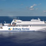 Image for the Tweet beginning: Check out @BrittanyFerries new LNG