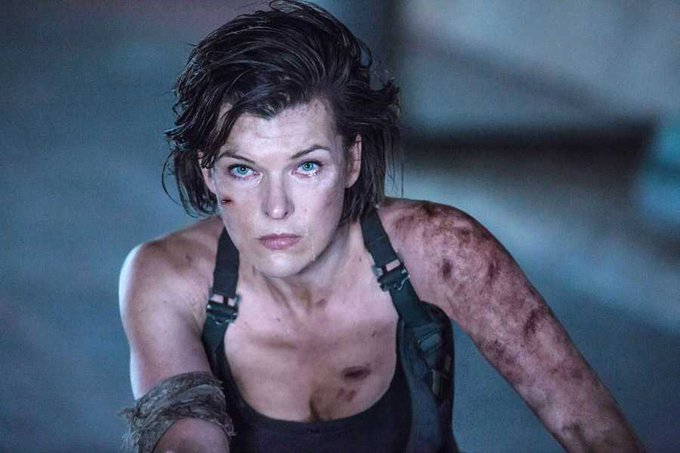 Happy 43rd birthday to RESIDENT EVIL star Milla Jovovich (