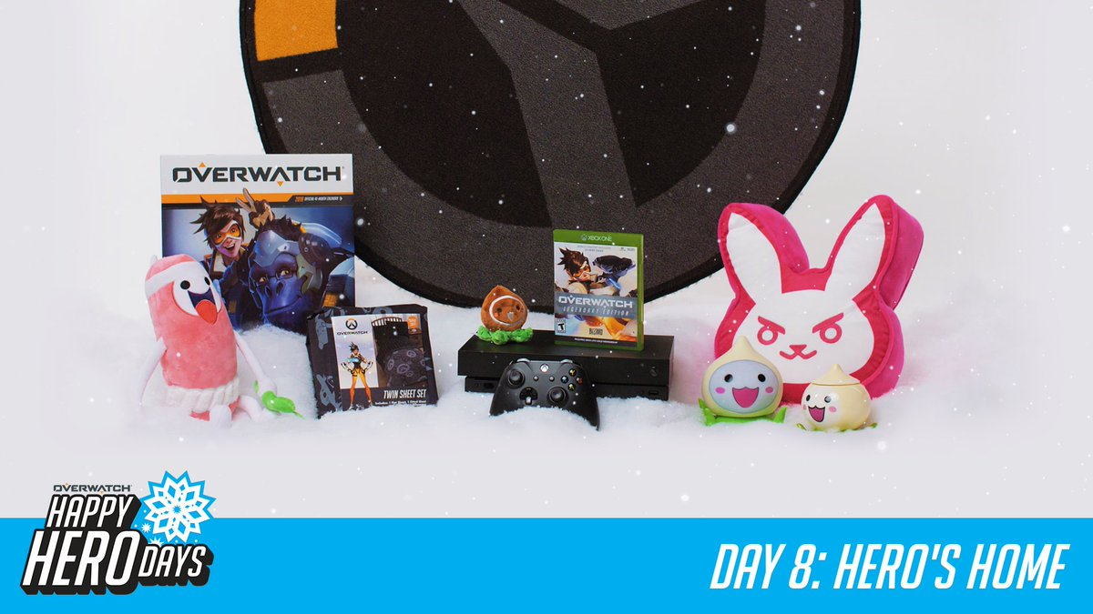 #HappyHeroDays! 12 prizes, 12 days.  Day 8: Hero's Home  RT for a chance to win today's prize and RT every day for a chance to win a GRAND PRIZE package from @msiUSA.  📜 http://Blizz.ly/2zPpxow