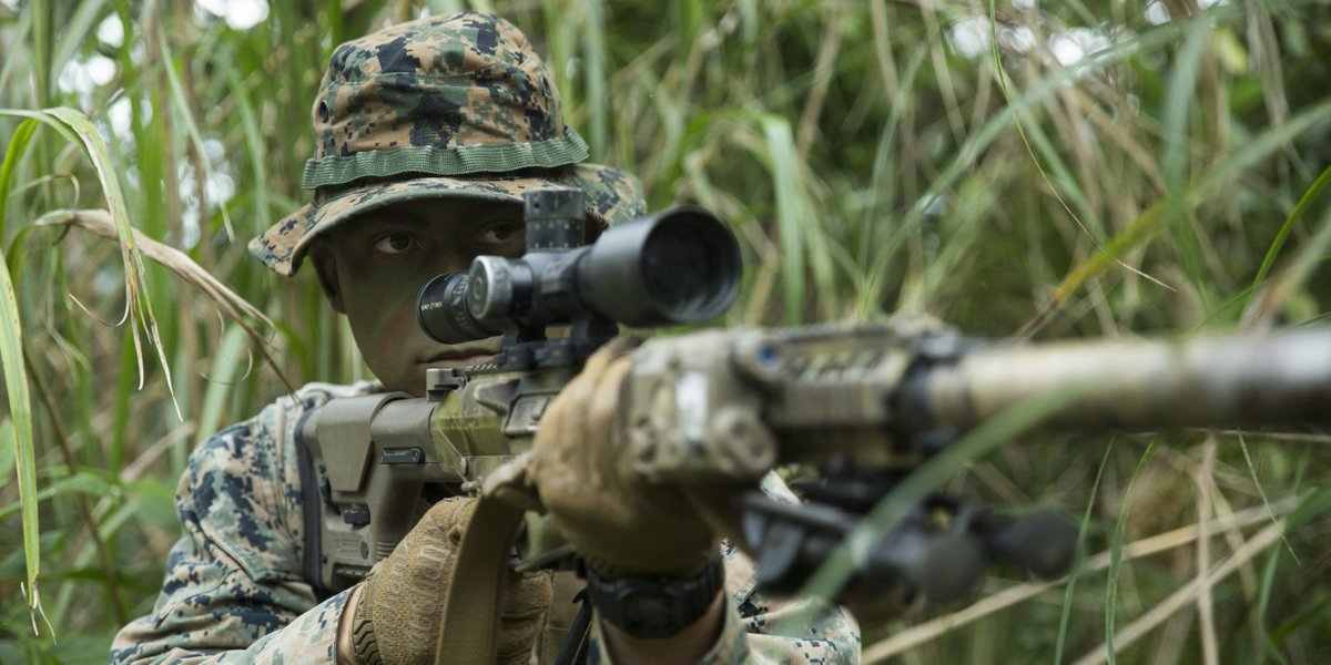 U S Marines On Twitter One Shot One Kill Cpl Chancelor