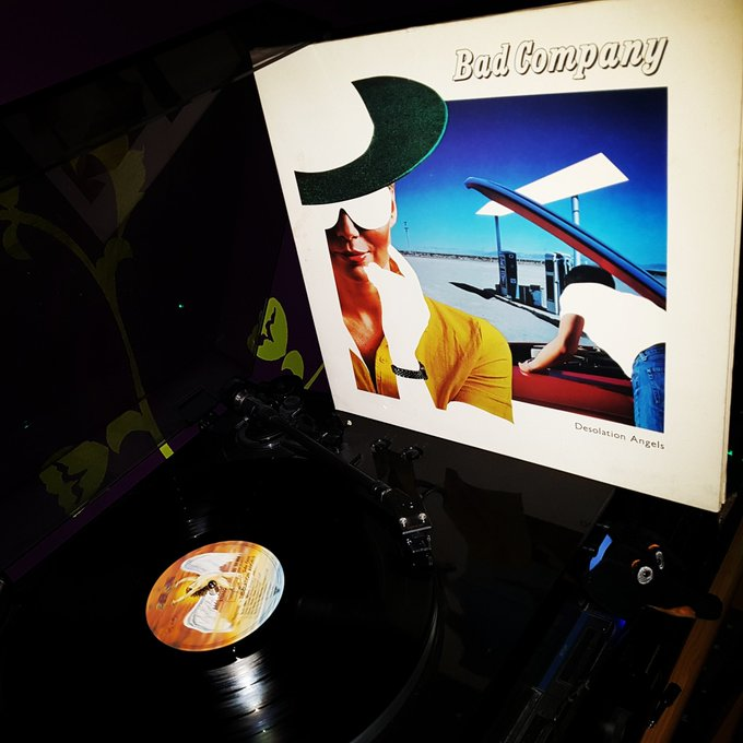 Happy Birthday Paul Rodgers *69* ! Bad Company - Desolation Angels (Swan Song/1979)