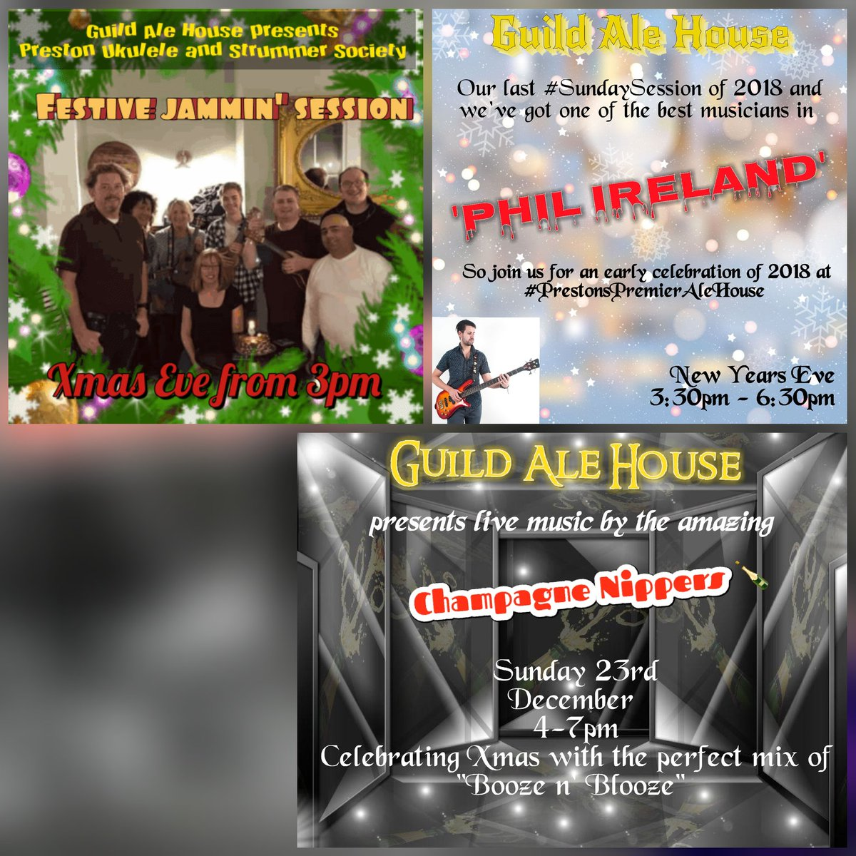 Christmas Jam 2019.Guild Ale House On Twitter This Festiveseason We Have