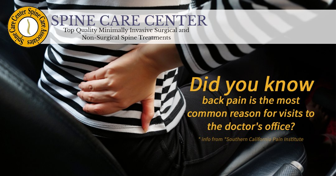 Spine Care Center on Twitter: