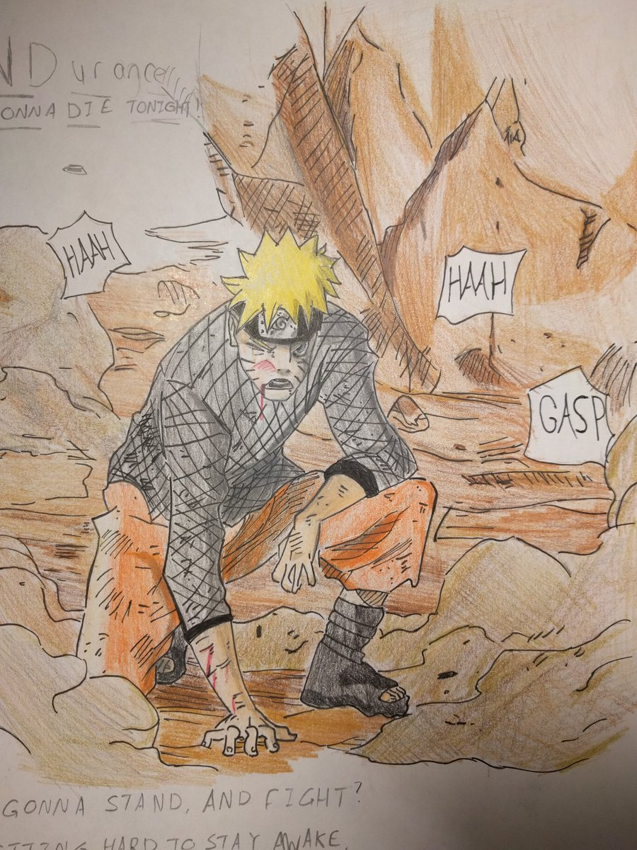 Donidraws On Twitter Colored Piece Copied From A Chapter Of Naruto Shippuden 2014 15 Artistsoninstagram Art Sketch Sketching Anime Manga Mangaka Mangaart Naruto Drawing Drawings Draw Pencil Coloredpencil Narutouzumaki