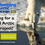 Looking for a PhD in #Arctic science? #Arctic funded students...