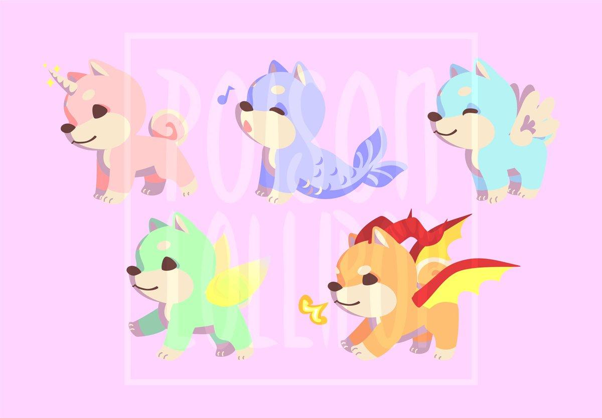 Some pastel fantasy #shibainu to get me through this Monday  <br>http://pic.twitter.com/sIdk4eVkSR