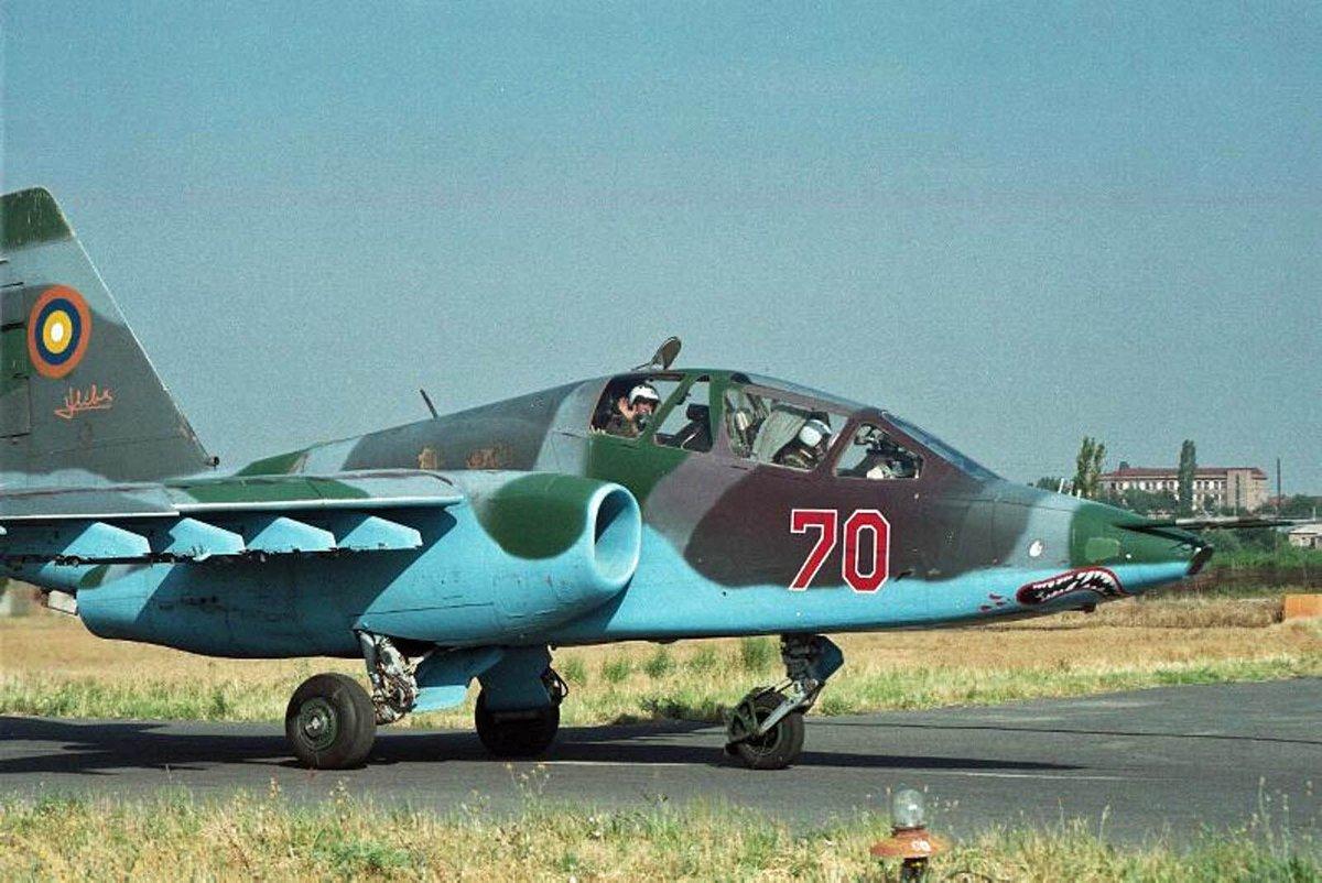 Cazabombardero #Su25 Fuerza Aérea #Armenia se estrella en una zona montañosa cerca de ciudad de Maralik falleciendo sus dos tripulantes #RIP