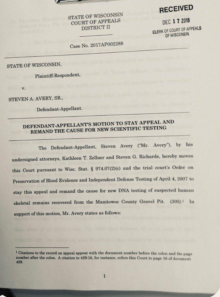 Kathleen Zellner On Twitter Motion Filed W Appellate Court For