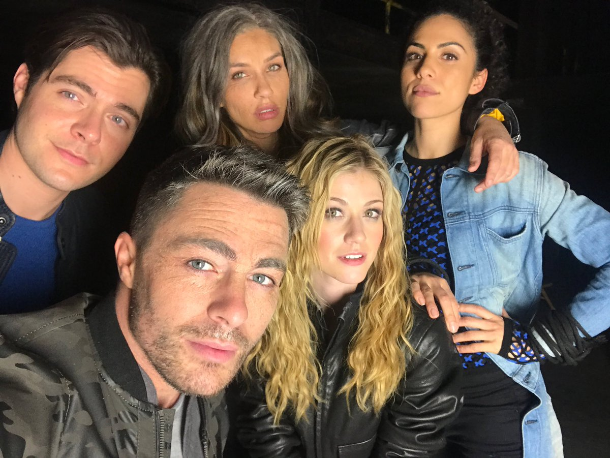 The usual suspects... #Arrow ✴︎➳ @cw_arrow #repost @ColtonLHaynes