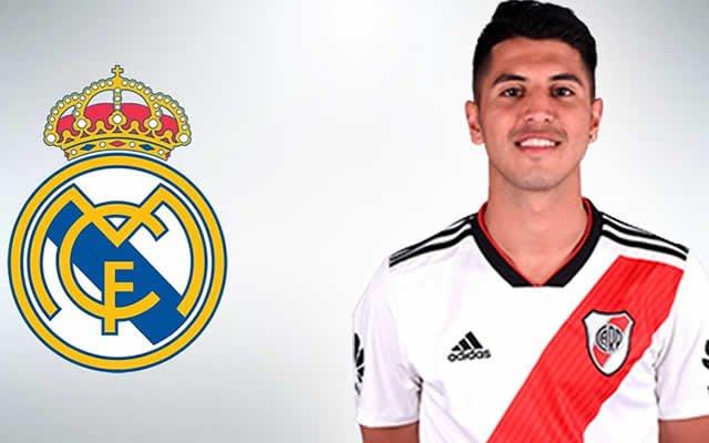 🎥 ¡Así juega Palacios, futuro crack merengue y posible rival del @realmadrid en el Mundial de Clubes! ⚽️💥👇  https://bit.ly/2DSWuUp  #RealMadrid #RiverPlate