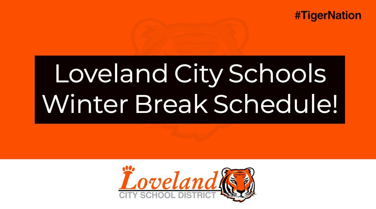 Loveland Tigers On Twitter Loveland City School District Winter