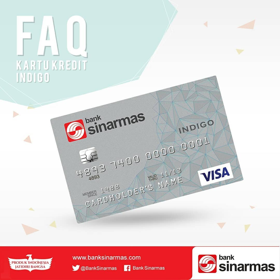 Image result for Kartu Kredit Bank Sinarmas INDIGO