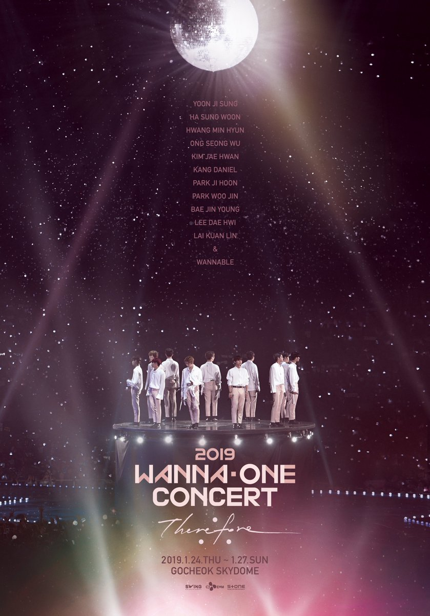 Wanna One On Twitter 공지 2019 Wanna One Concert Therefore