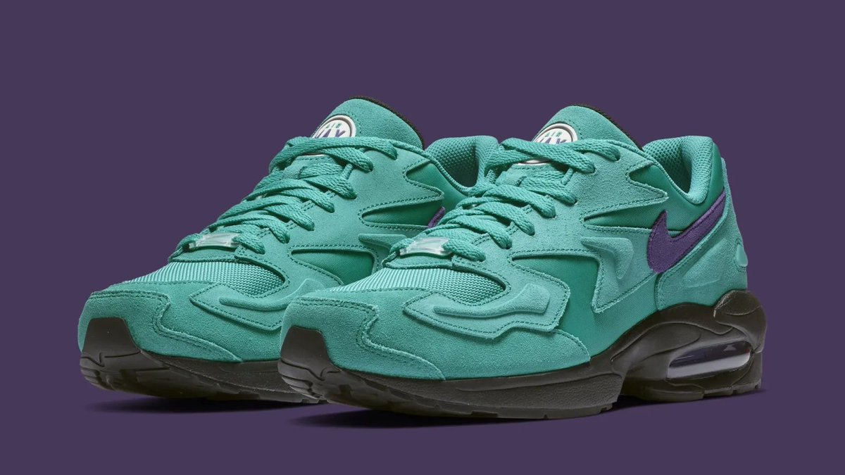 outlet store bab2d c68c5 the nike air max2 light is coming back in two aqua colorways