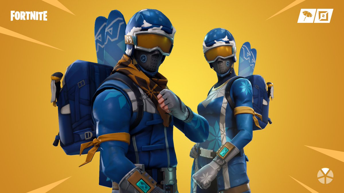 Catch some fresh powder. 🎿  The Alpine Ace and Mogul Master Outfits are available now!