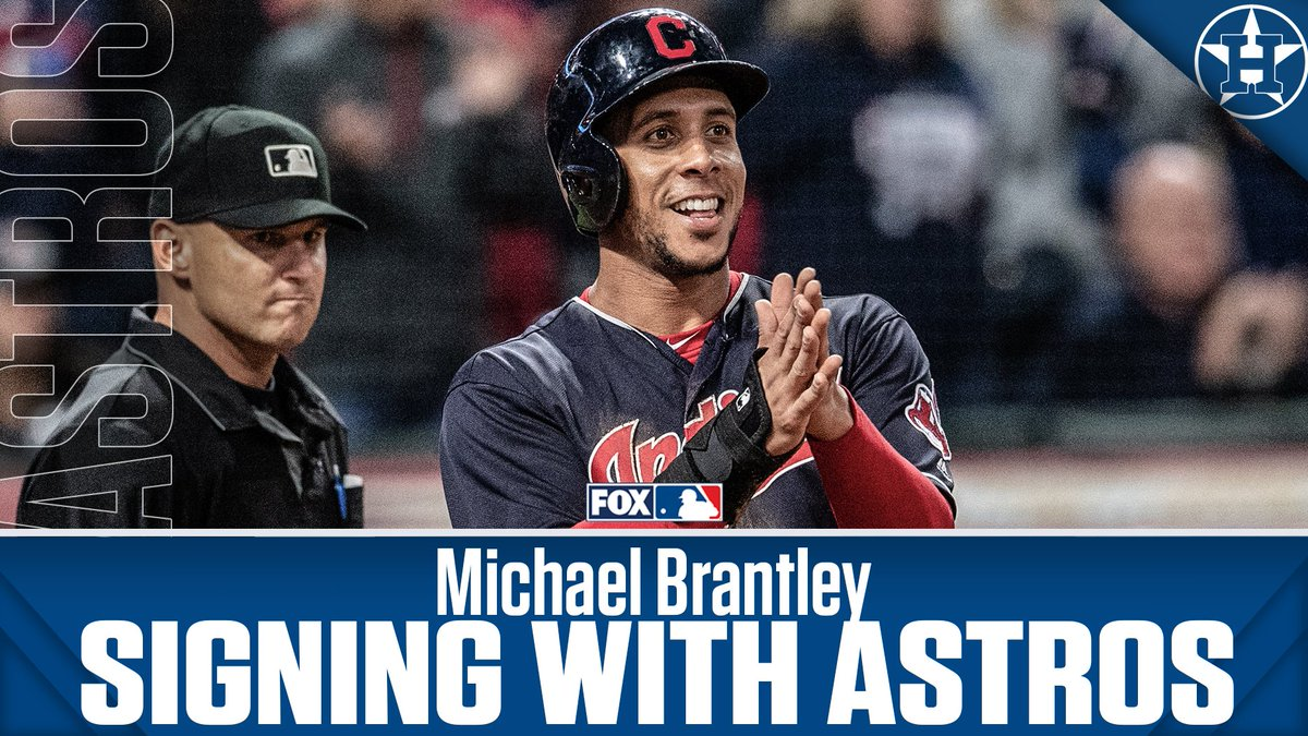 The Astros are closing in on a deal with OF Michael Brantley. (via @Ken_Rosenthal)