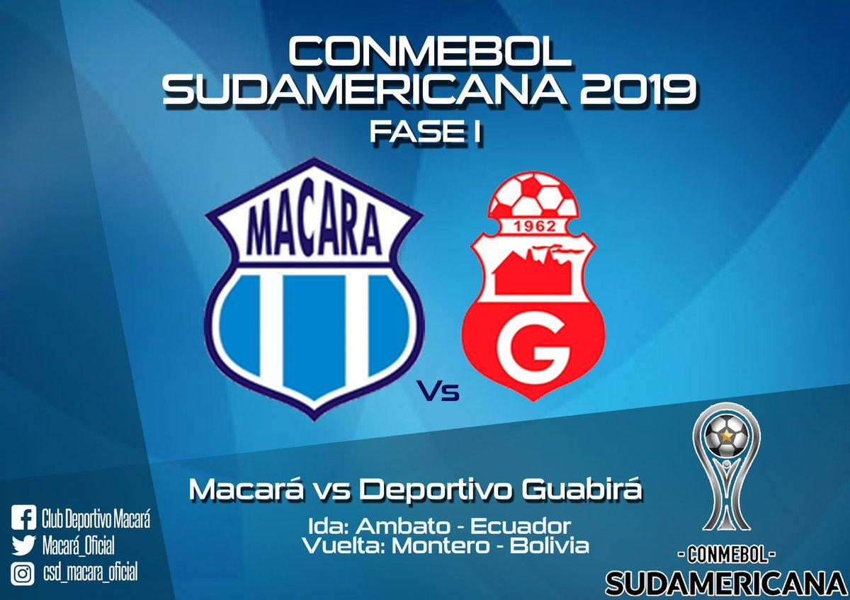 Resultado de imagen para Macará vs Guabirá