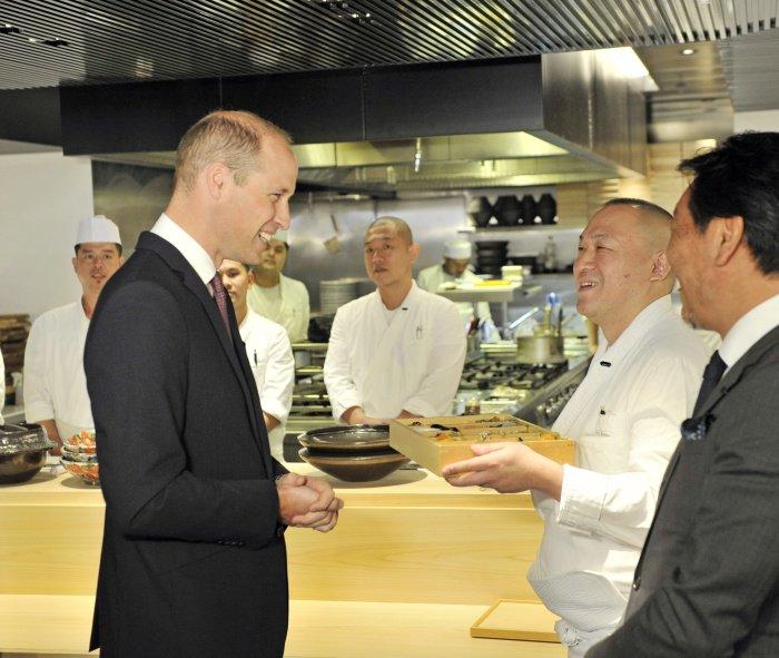 Duke of Cambridge opens Japan House in London goo.gl/xBeyV3