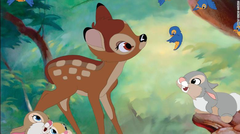 """A judge in Missouri sentenced a man to a year in prison for illegally killing deer and ordered him to watch the Walt Disney movie """"Bambi"""" once a month https://cnn.it/2ScnS3y"""