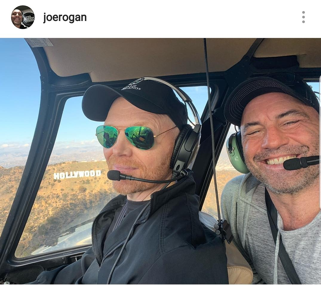 test Twitter Media - The skies above LA were a lot funnier today. @billburr @joerogan #billburr #joerogan #Hollywood https://t.co/rC5lgnqjf5