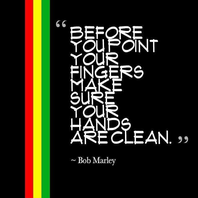 Reggaddiction On Twitter Before You Point Your Fingers Make Sure
