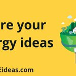 Image for the Tweet beginning: What's your big idea? Share