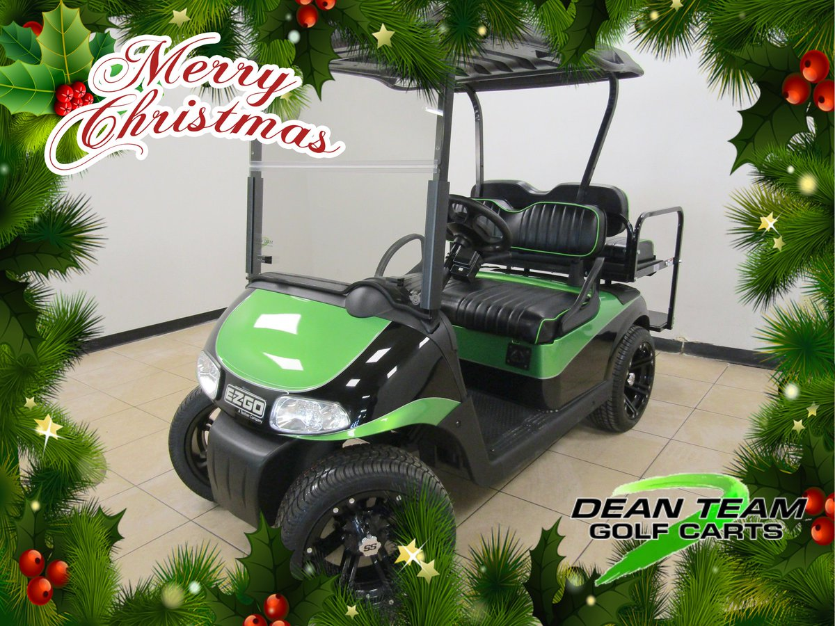 Golf Cart Christmas Decorations.Dean Team Golf Carts On Twitter On The 8th Day Of