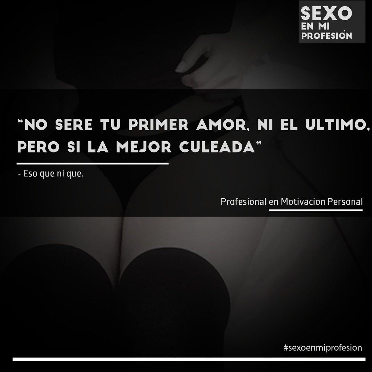 Sexoenmiprofesion בטוויטר Bienvenid A Sexo En Mi