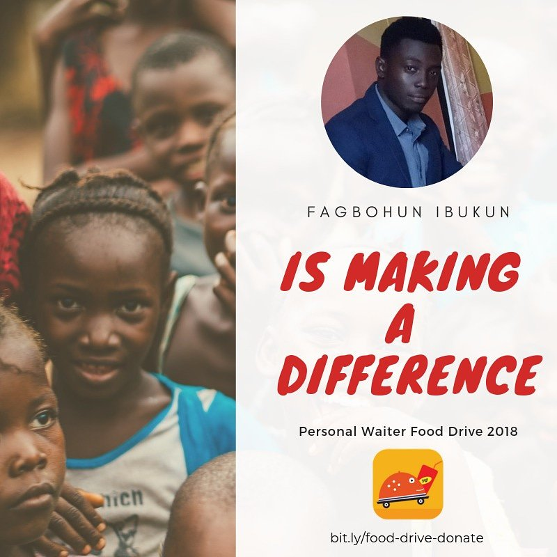 """When people were hungry, Jesus didn't say, """"Now is that political, or social?"""" He said, """"I feed you."""" Because the good news to a hungry person is bread."""" You can make a difference  #PersonalwaiterAtOne #PersonalWaiterFoodDrive  #OneCanMakeADifference  #AbeokutaTwitterHangout<br>http://pic.twitter.com/CbTahL43Mx"""